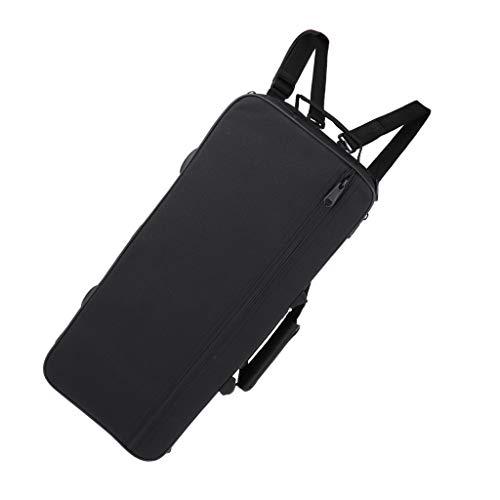 Trompetentasche für Trompeten, wasserdicht Gigbag Case Box Trompete Tasche Rucksack mit Dual-Schulterriemen Schaumstoff gepolstert