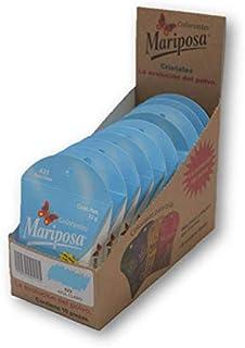 Mariposa Cristales Azul Cristales 623 Colectiva con 10 piezas