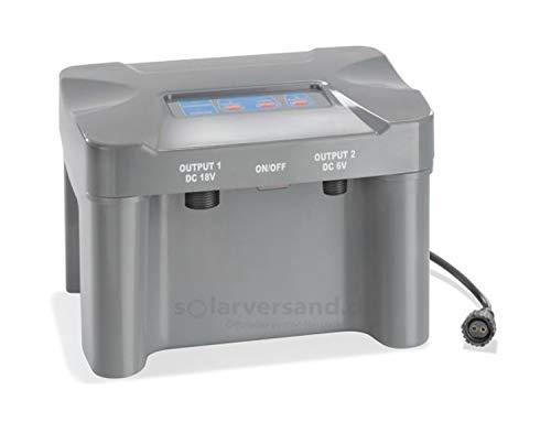 Akkubox 12V/7 Ah bis 50 Watt Solarmodulleistung für Solar Teichpumpen Pumpe Akku Batterie esotec 101816