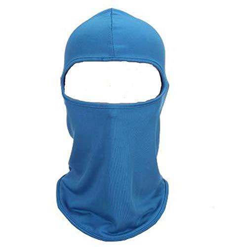 JUNSHUO Ski Masker - Motor Wielrennen Gezichtsmasker - Winddicht Bivakmuts - Balaclava - Muts Skiën - Ademend voor Heren en Dames Wintersport, Universele Maat