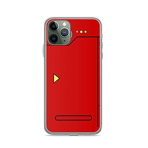 Phone Case Pokedex 5s5 Tough Compatible with iPhone 6 6s 7 8 X Xs Xr 11 12 Pro Max Mini Se 2020 Scratch Shock Funny