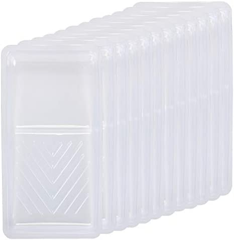 Bates Paint Tray Liner 4 Inch 12 Pack Paint Roller Tray Paint Trays Disposable Paint Tray Small product image