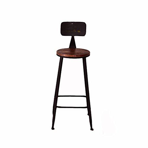 SGMYMX Barstuhl Amerikanischer Eisen Barstuhl Home Chair Bar Hochstuhl Barhocker