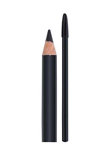 2Pcs Crayon de sourcils pratique Pas de décoloration Crayon de sourcils, noir