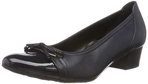 Gabor Damen Comfort Fashion Pumps, Blau (Midnight 66), 42 EU