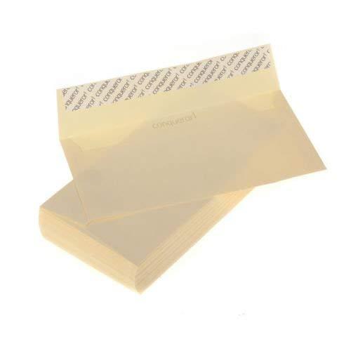 Conqueror Briefumschläge aus Pergamentpapier, ohne Fenster, 50 Stück