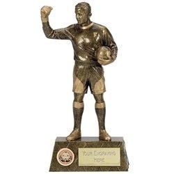 Pinnacle8 Goalie Football Trophy Aw