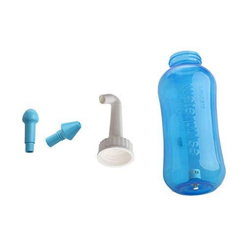 ZIRAN Nasenwaschsystem Sinus & Allergien Entlastung Nasendruck Spülen Neti Topf Reinigungsmittel