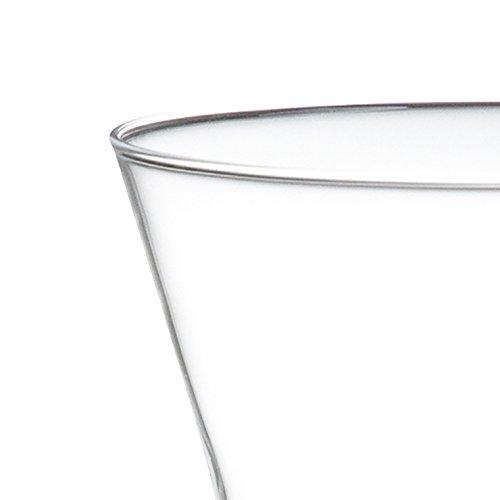 WiredBeans(ワイヤードビーンズ)生涯を添い遂げるグラスタンブラー240うす吹きトランスペアレント(透明)360ml国産杉箱入