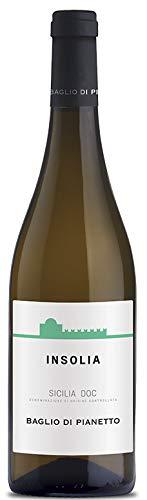6x 0,75l - 2018er - Baglio di Pianetto - Insolia - Sicilia D.O.C. - Sizilien - Italien - Weißwein trocken