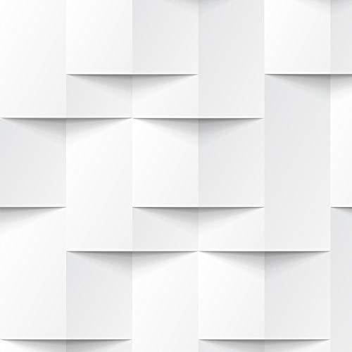 Papel de Parede Abstrato geométrico 3D Para Quartos e Sala