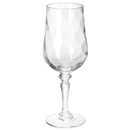 IKEA KONUNGSLIG Weinglas aus Klarglas; (40cl)
