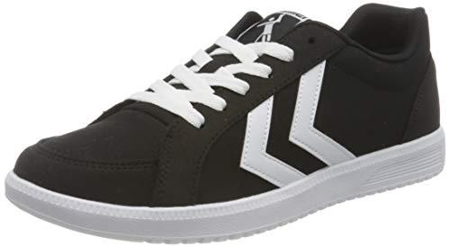 hummel Unisex-Erwachsene Deuce Court Canvas Sneaker, Black,43 EU
