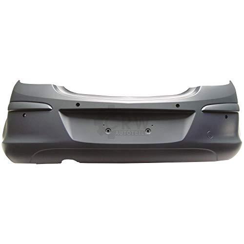 Stoßstange hinten für Corsa D Bj. 06-10 grundiert PDC ABS Kunststoff