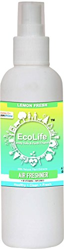 ECOLIFE 100% Natural Vitamin Infused Air Freshener, Lemon Fresh (200ml)