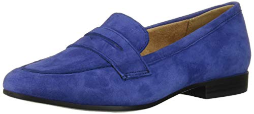 Price comparison product image Naturalizer Women's Juliette Loafer Flat,  Deep Sapphire Suede,  11 W US