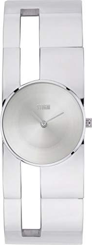 Storm Damen-Armbanduhr Irma Silver Stahlarmband Silber 47372/SIL