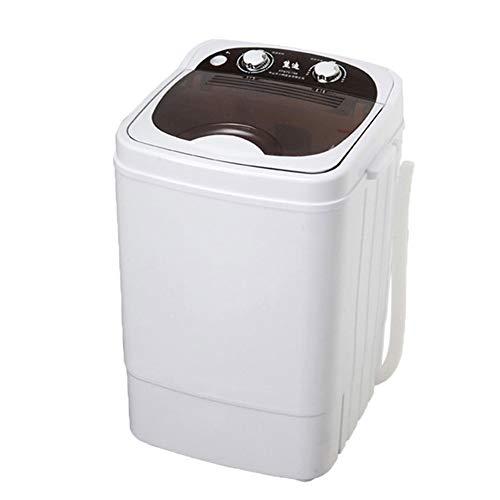 WOAIM Mini lavadora portátil compacta ropa del niño de limpieza 5 kg para caravanas exteriores pequeños apartamentos de viaje dormitorio
