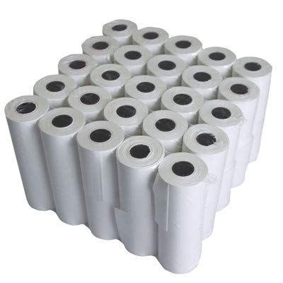 Kagaz Thermal Paper Roll 58mm x 15Mtrs |Pack of 40 | 2 Inch roll | Economy Paper Quality