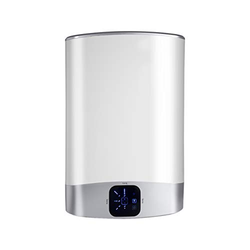 Fleck 80 EU 3626158 Termo Eléctrico Duo 5, 1500 W, 230 V, 80 L [Clase de eficiencia energética B], Blanco