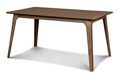New Classic Furniture Mid-Century Modern Oscar, Dining Table, Walnut