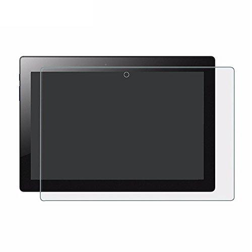 GOGODOG [2 Stück] Lenovo Tab3 10 Business Schutzfolie Display Schutz Temperiert Glas Film Anti Fingerabdruck Kristall klar 10.1 Zoll Festigkeit Transparent Folie TB3-X70F TB3-X70N (Lenovo TB3-X70F/N)