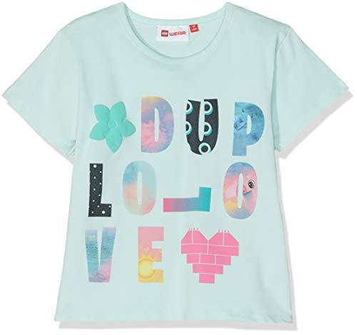 Lego Wear Baby-Mädchen DUPLO Girl Thelma 323-T-SHIRT T-Shirt, Türkis (Mint 712), (Herstellergröße: 98)