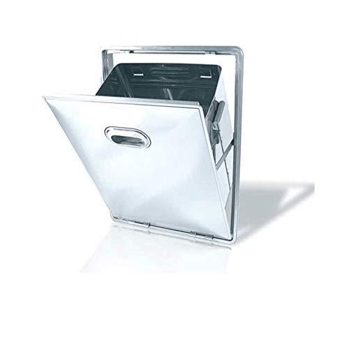 Tramoggia rifiuti 3075/11 in acciaio inox AISI 304