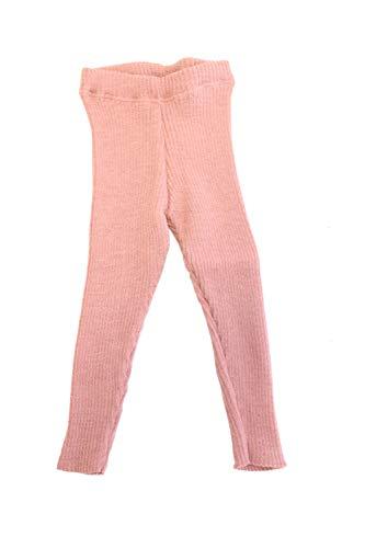 Disana 33209XX - Strick-Leggings Wolle, Rose, 86/92