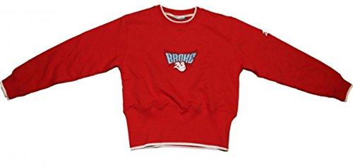 Unbekannt Broke Skateboard Pullover Red Sweater, Grösse:XXL