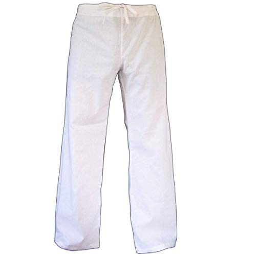 PANASIAM Cloth Trousers, White, M