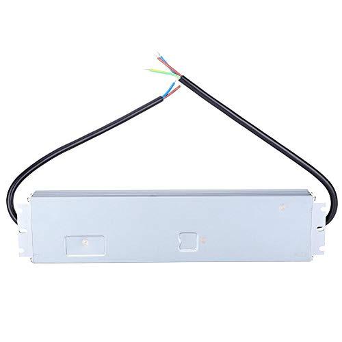 Controlador LED, transformador de controlador LED ultrafino HRUW 150W, fuente de alimentación de salida de bajo voltaje de 100-240 VCA a 24 V CC, IP67 a prueba de agua para tira de luz LED, lu
