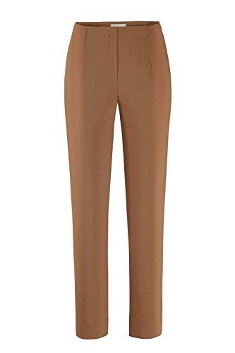 Stehmann - Stretchhose INA 740 - VIELE Farben - Mit EXTRA-Fashion Armreif -Gerade geschnittene Pull-On Hose mit Schlitz, Hosengröße:38, Farbe:Whiskey