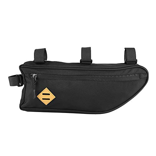 Bici borsa telaio triangolo, Dacron grande impermeabile anteriore ciclismo Top tubo sacchetto anteriore della bicicletta del telefono titolare borsa porta bicicletta accessorio della bicicletta(L)