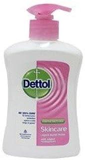 Dettol Liquid Hand Wash Skincare Pump (225ml) (Pack of 4)