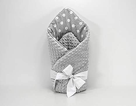 w-H-r-M-r Doppelseitige Einschlagdecke Steckkissen Kuscheldecke Baumwolle