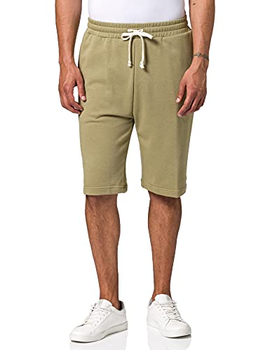 Urban Classics Herren Low Crotch Sweatshorts Shorts, Khaki, 4XL
