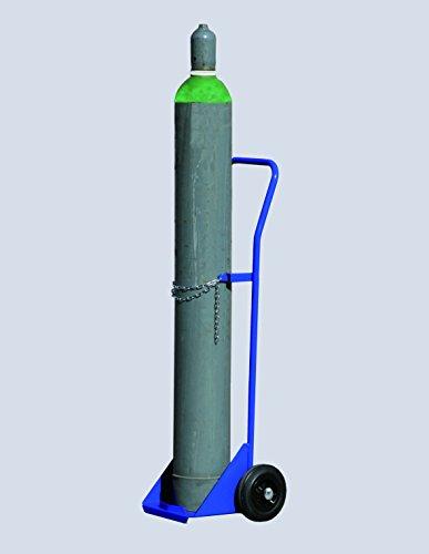 Svelt Carrello Portabombola 40 litri Solida Struttura in Acciaio con Catenella di Fissaggio Bombola