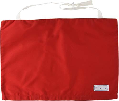 ファシル 防災頭巾カバー 小学生用 防災頭巾 専用カバー 座布団式 レッド 8074