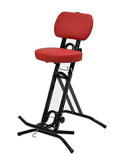 LIBEDOR Stehhilfe Stehhocker Stehsitz Sitz Sitzhilfe Stehstütze mit ergonomischer Sitz 6 cm dickem Polster bis 130 kg belastbar Exklusiv TGCR