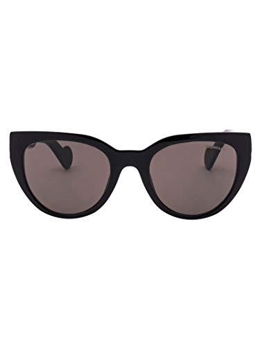 Luxury Fashion | Moncler Dames ML00765001A Zwart Acetaat Zonnebrillen | Seizoen Permanent