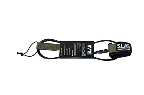 Slab- Surf Leash Comp 6' - 6mm Army