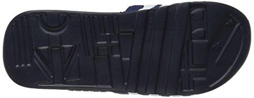 adidas Originals Men's Adissage Slides,New Navy/New Navy/Running White,8 M