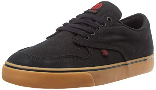 Element, Zapatillas para Hombre, Negro (Black Gum Red 3545), 41 EU