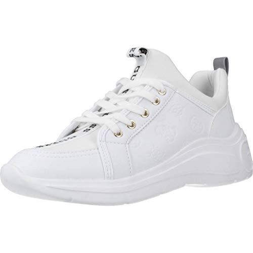Guess Calzado Deportivo Mujer FAL12 Sneaker SPEERIT para Mujer Blanco 39 EU