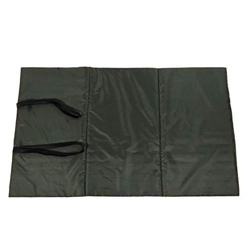 Perfeclan Pliable Tapis de Réception Poissons Protection Replier Sangles de Protection Pad Vert Foncé pour en Plein Air de Pêche