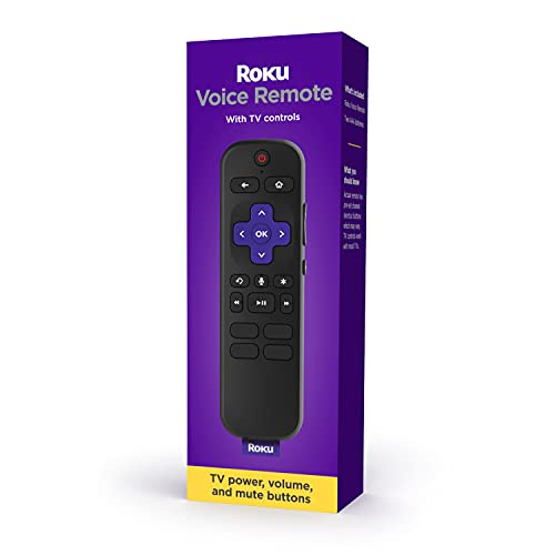 Roku Voice Remote (Official) for Roku Players and...