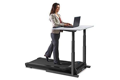 LifeSpan TR1200-DT7 Treadmill Desk/Schreibtisch Laufband (Holzkohle DT7c)