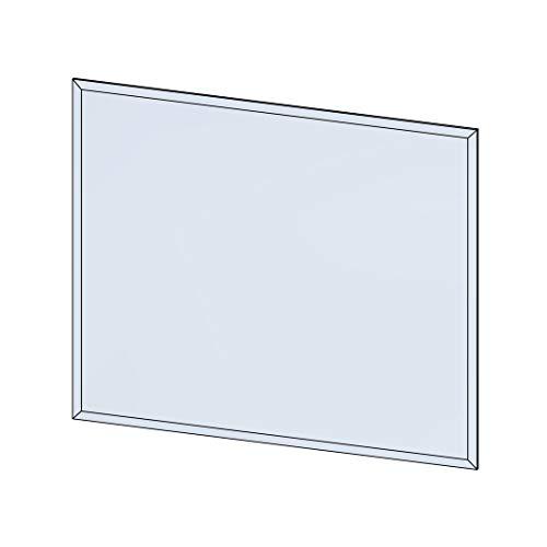 Plaque de sol rectangulaire 100x120 en verre 8 mm PDSRV100X120 (895)