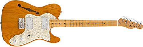 Fender Vintera '70s Telecaster Thinline - Maple Fingerboard - Aged Natural